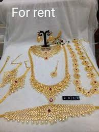 bridal sets for rent bridal jewellery set rental available buy