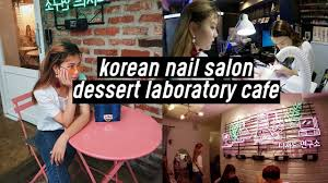 neon aesthetic korean nail salon tropical nail dessert