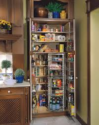 Food Storage Cabinet Freestanding Pantry Cabinet Craftman Interior Decoration With