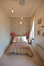Lighting Ideas For Bedrooms Small Bedroom With Interesting Wall Picture Frame And Completed