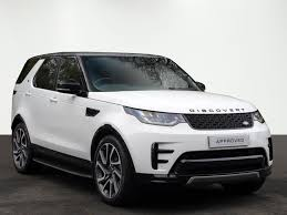 white land rover 2017 used land rover discovery cars for sale motors co uk