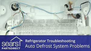 troubleshooting defrost system problems in refrigerators youtube