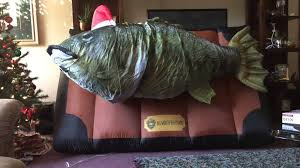 gemmy airblown inflatable big mouth billy bass youtube