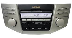 lexus rx 400h used review 2005 2006 lexus rx330 rx400h radio 6 cd player 05 06 ap6860 p6847