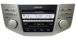 lexus rx 400h hybrid 2005 2005 2006 lexus rx330 rx400h radio 6 cd player 05 06 ap6860 p6847