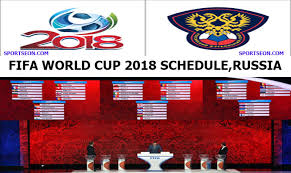 World Cup Table Fifa World Cup 2018 Schedule Venue U0026 Time Table 64match Sportseon