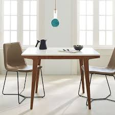 Dining Room Computer Desk Modern Expandable Dining Table West Elm