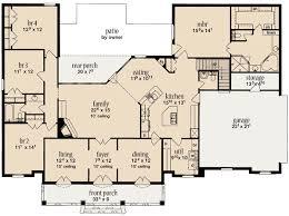 split entry floor plans plan w84021jh southern splendor e architectural design