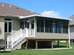 Deck To Sunroom Home Town Restyling Three And Four Season Sunrooms Details Page