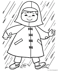 Rainy Day Coloring Pages For Kids 338656 Rainy Day Coloring Pages