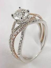 silver diamond rings and gold wedding ring