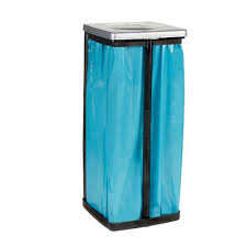 porte sac poubelle cuisine support sac poubelle 28 5 x 87 cm brico