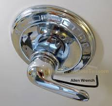 how to replace a leaky shower valve cartridge remove the shower handle set screw