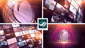 videohive video wall logo after effects template free after