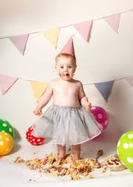 cake smash photoshoot with birthday edith from new malden