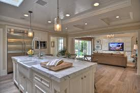 open floor plan farmhouse open floor plan lighting kitchen style with open floor plan