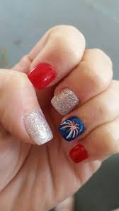 16 best nail art images on pinterest 4th of july nails nail art