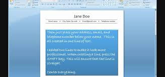 How To Send A Resume Through Email How To Create A Resume Using Powerpoint Jobs U0026 Resumes