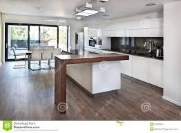 cuisine de famille l espace ouvert de cuisine à l intérieur neuf de la maison de