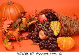 free thanksgiving cornucopia prints and wall freeart