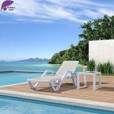 canap plastique violet feuille en plastique chaise longue plage chaise pliante