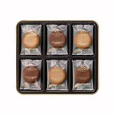 chocolate cookies and coffee gift set godiva