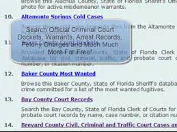 Free Bench Warrants Search - how to check my criminal record for free freebackgroundcheck org