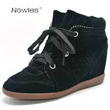 s boots wedge bobby fashion sneakers s boots wedges shoes genuine leather