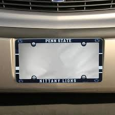penn state alumni license plate penn state car decals psu license plates frames stickers