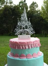 castle cake topper cinderella inspired castle cake topper with led light by