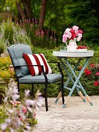Outdoor Furniture Small Space by 25 Budget Ideas For Small Outdoor Spaces Hgtv
