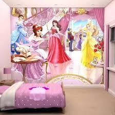 papier peint pour chambre fille lit fille princesse disney grand daccor princesses disney pour