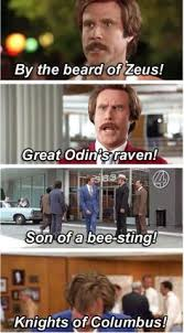 ron burgundy i am not even mad or that s amazing anchorman meme