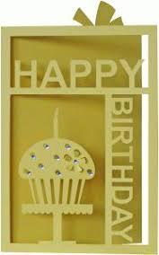 freebie happy birthday with stars card shirley u0027s cards star