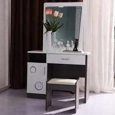 Oak Vanity Table With Drawers Furniture White Dressing Tables With Mirror And Stool Table With