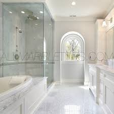 Carrara Marble Floor Tile Bathroom Flooring Carrara Marble Bathroom Floor Images Of