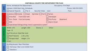 fire response plan template virtren com