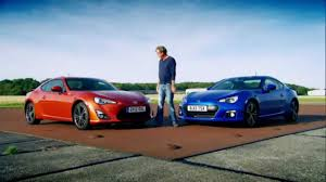 subaru brz vs scion fr s jeremy clarkson shows how to choose between a toyota gt86 and a