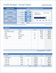 Budget Template Excel Event Budget Template For Excel