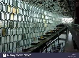 Building Interior Stairs Harpa Congress And Concert Building Interior Stairs And Ceiling