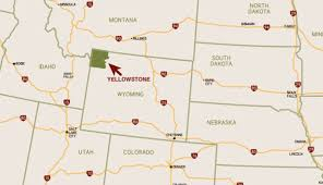Map Of National Parks In Usa Yellowstone U0027s Featured Regions Explore Towns Cities And