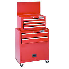 craftsman home series 6 drawer tool center with bulk storage panel