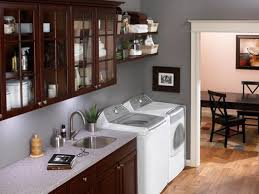 10 clever storage ideas for your tiny laundry room hgtv u0027s