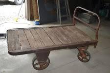 railroad cart coffee table railroad cart antiques ebay