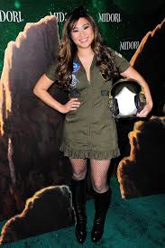 Gun Halloween Costumes Jenna Ushkowitz Channeled Gun Fighter Pilot Midori