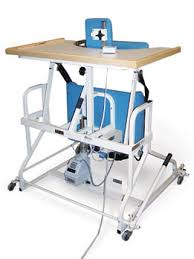 hausmann hand therapy table hausmann model 6185 bariatric 500lb electric stand in standing frame