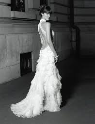 low back wedding dresses what are s opinions on backless wedding dresses the knot