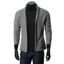 casual style slim fit v neck sweater simple cardigan coat jumpers