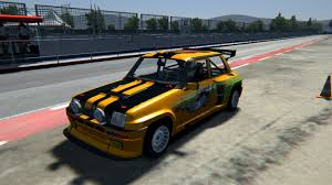 renault 5 turbo renault 5 turbo r hill climb v0 8 renault car detail assetto