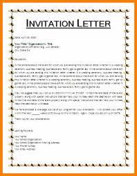 6 invitation letter format biology resume